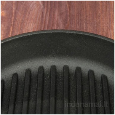Ketaus grill keptuvė Brizoll 24cm 2