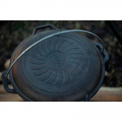 Ketaus keptuvė – dangtis Brizoll 28cm 9
