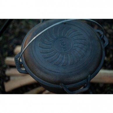 Ketaus keptuvė – dangtis Brizoll 28cm 10